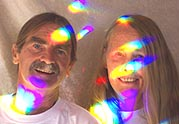 Rainbows fill the lives of Nancy and Jon Couch